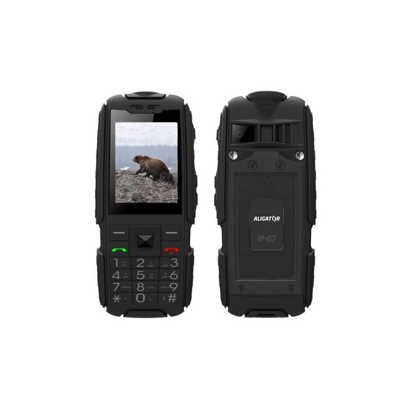 Mobilný telefón Aligator R20 eXtremo (AR20BB) čierny