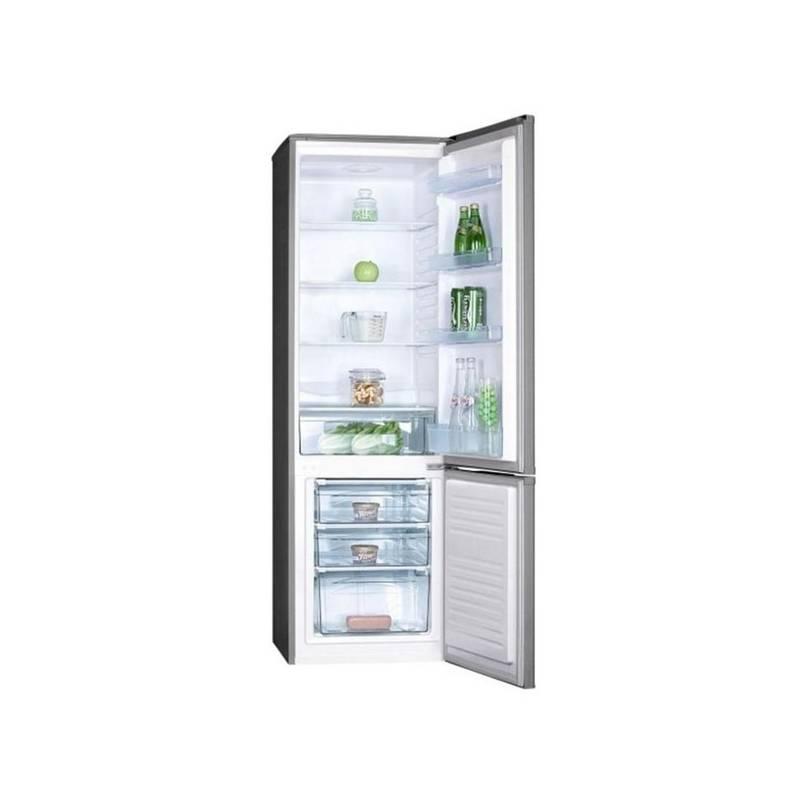Kombinácia chladničky s mrazničkou Goddess RCC0177GX9 nerez + Doprava zadarmo
