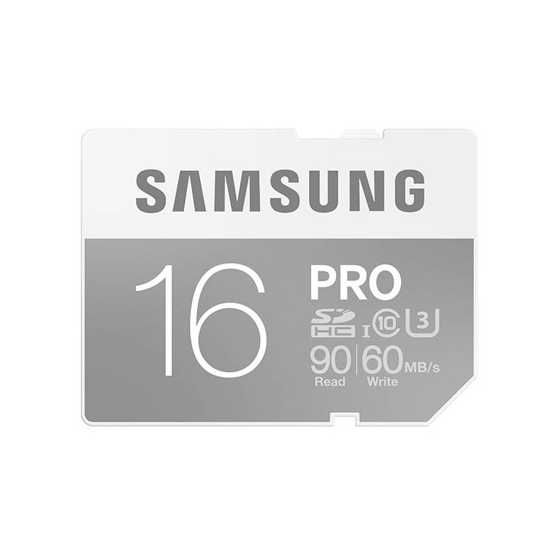 Pamäťová karta Samsung SDHC PRO 16GB UHS-I U3 (90R/60W) (MB-SG16E/EU)