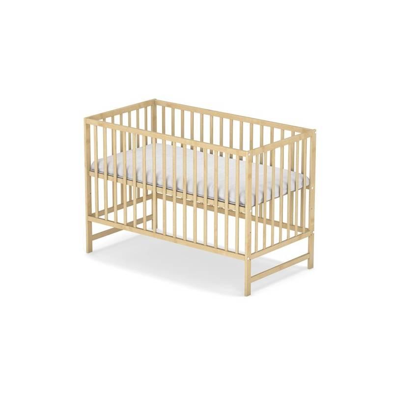 Postieľka detská drevená Baby Sky KLASIK borovice