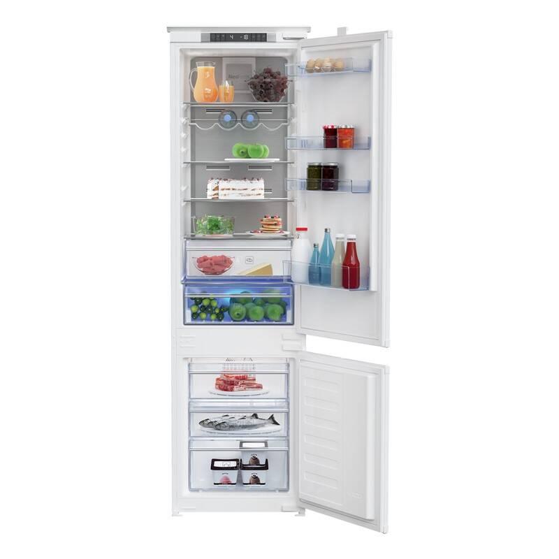 Kombinácia chladničky s mrazničkou Beko BCNA306E3S + Doprava zadarmo