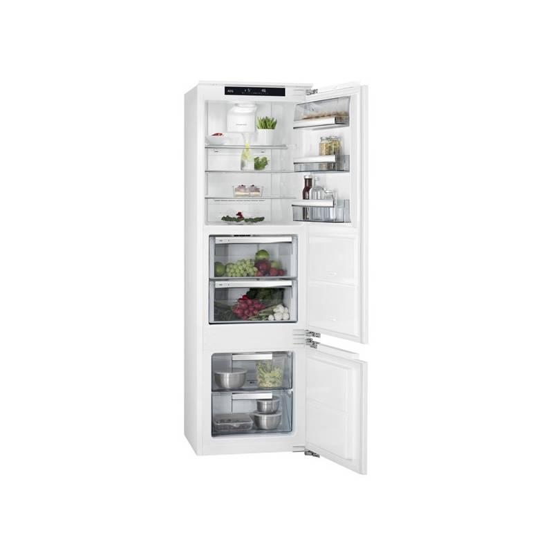 Kombinácia chladničky s mrazničkou AEG Mastery SCE81816ZF + Doprava zadarmo