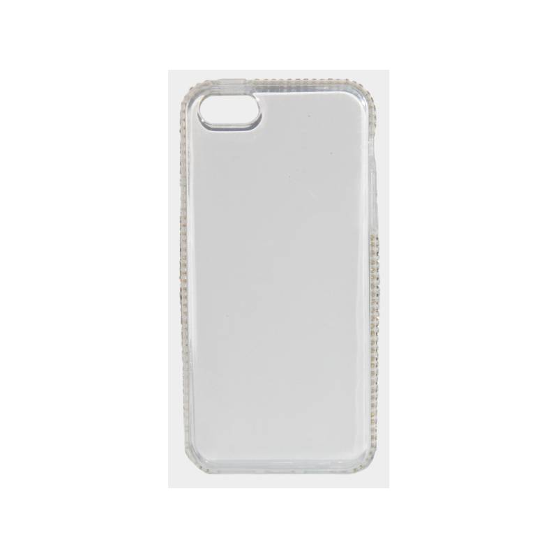 Kryt na mobil Beeyo Diamond Frame pro Apple iPhone 5/5s/SE (BEAAPIP5TPUFRWH) biely