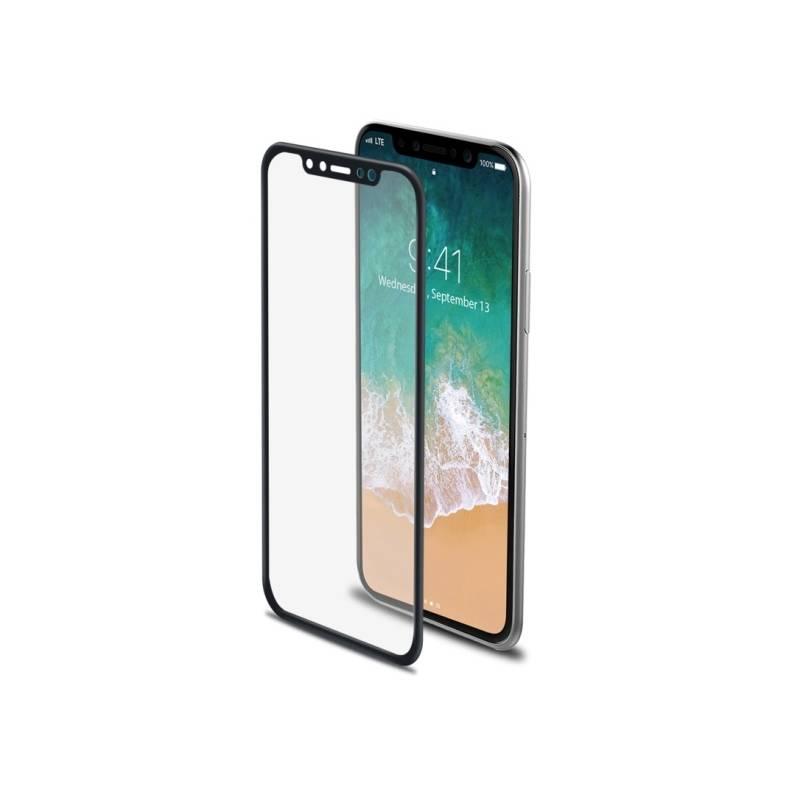 Ochranné sklo Celly 3D pro Apple iPhone X (3DGLASS900BK) čierne