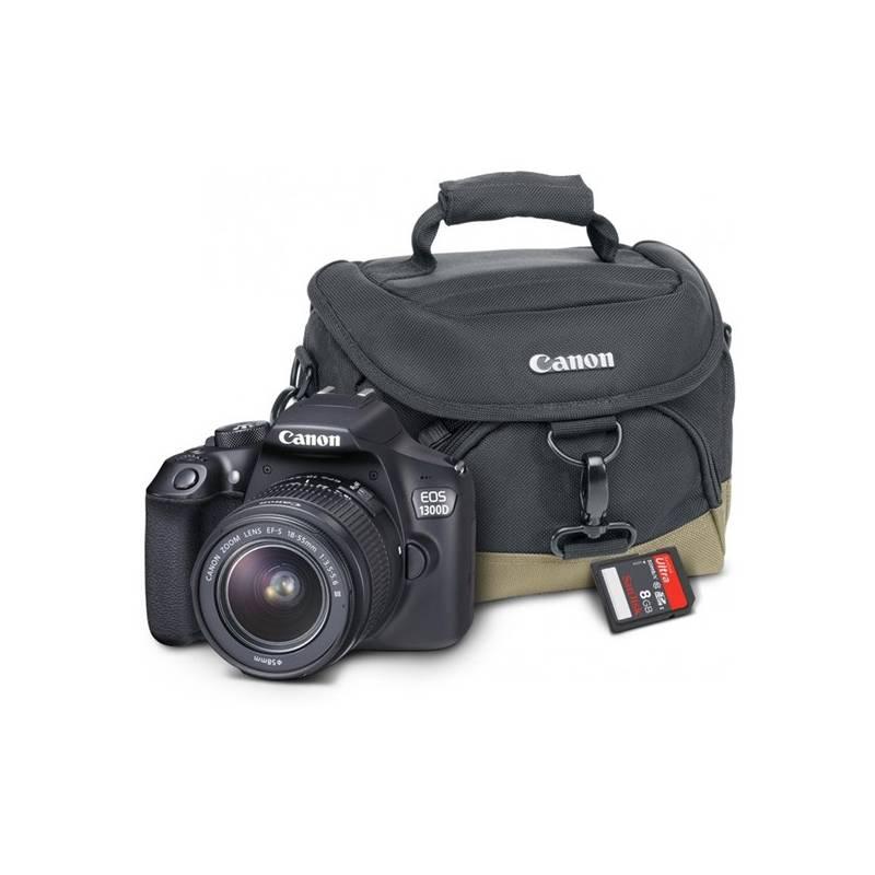 Digitálny fotoaparát Canon EOS 1300D + 18-55 mm DC III černý Starter Kit čierny + Doprava zadarmo