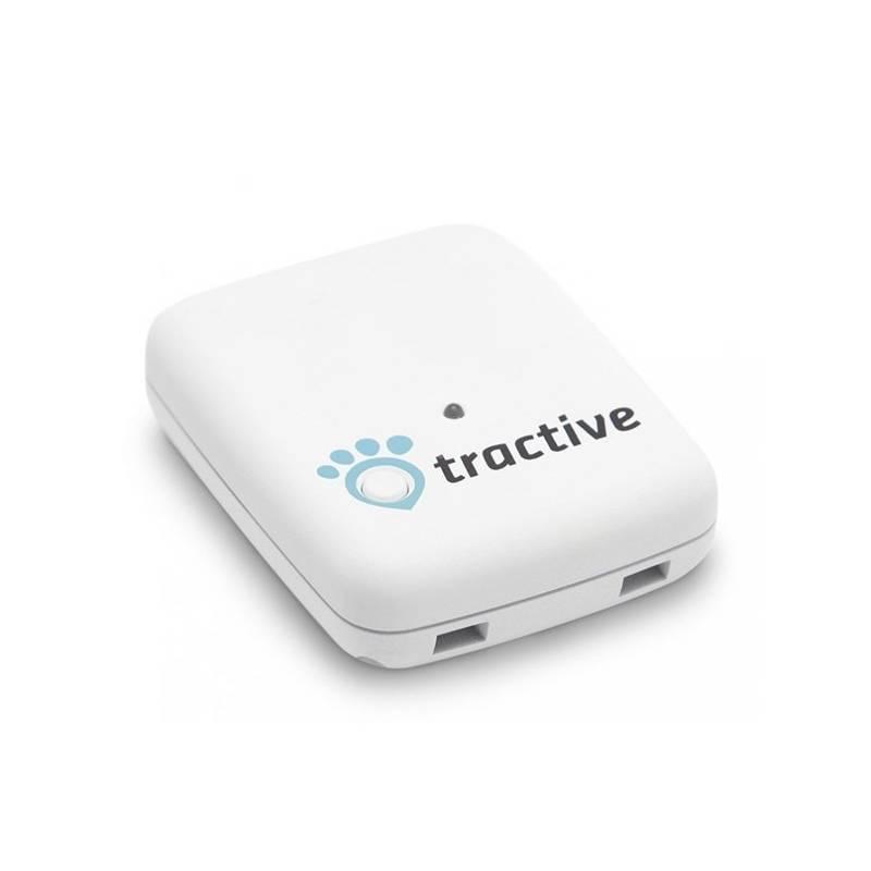 GPS lokátor Tractive tracker pro domácí zvířata biely
