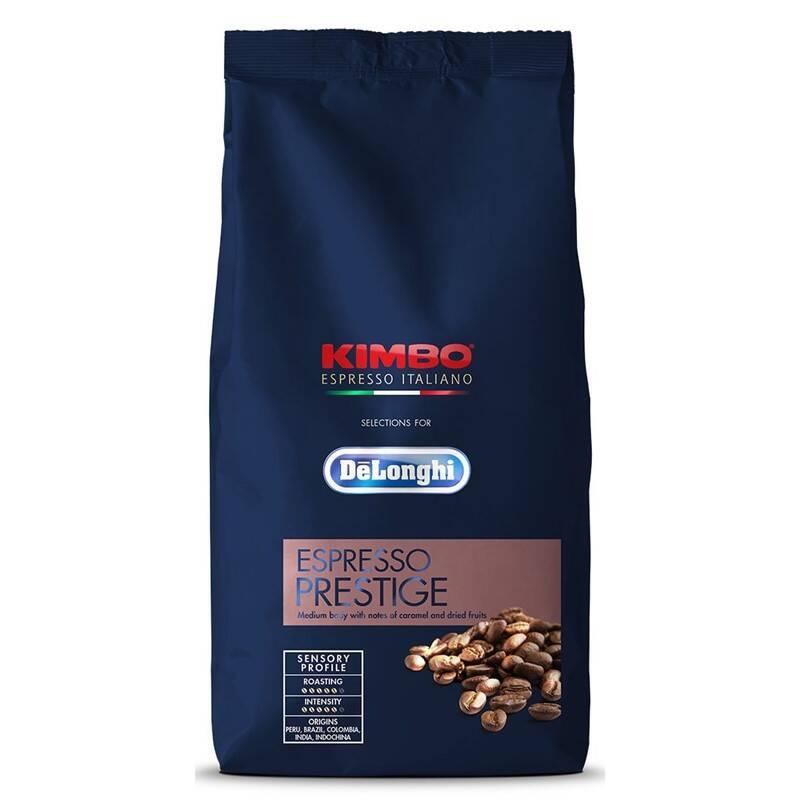 Káva zrnková DeLonghi Kimbo Prestige 1kg