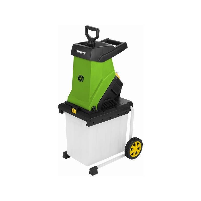 Drvič zahradného odpadu Fieldmann FZD 4020-E čierny/zelený