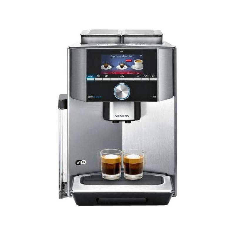 Espresso Siemens EQ.9 Connect TI909701HC nerez + Káva BIO zrnková Uganda 250 g Simon Lévelt v hodnote 5.90 €Káva Jacobs DE L´OR BN FORTISSIMO ESPRESSO 500g (zdarma) + Doprava zadarmo