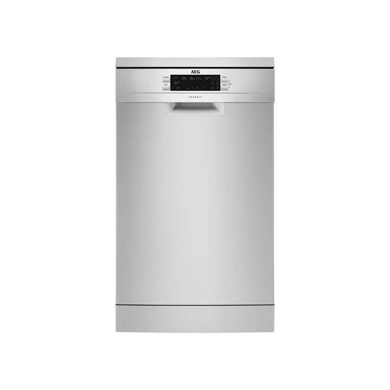 Umývačka riadu AEG Mastery FFB62400PM nerez + Doprava zadarmo