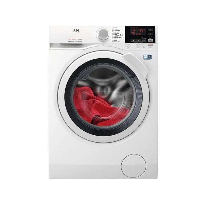 Pračka se sušičkou AEG L7WBG68W bílá