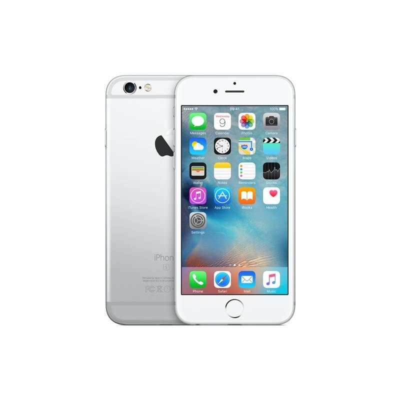 Mobilný telefón Apple iPhone 6s 128GB - Silver (MKQU2CN/A) strieborný Software F-Secure SAFE 6 měsíců pro 3 zařízení (zdarma) + Doprava zadarmo