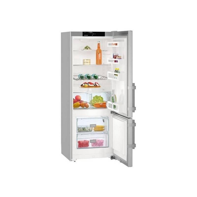 Kombinácia chladničky s mrazničkou Liebherr Comfort CUef 2915 nerez + Doprava zadarmo
