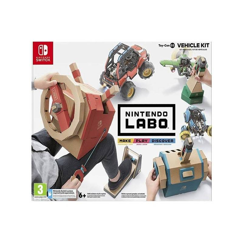 Hra Nintendo SWITCH Labo Vehicle Kit (NSS495)