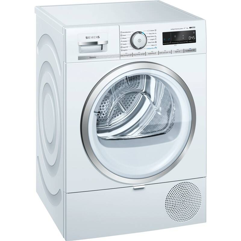 Sušička bielizne Siemens iQ700 WT47XMH1EU biela + Doprava zadarmo