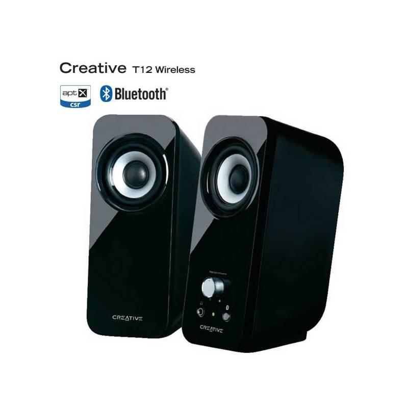 Reproduktory Creative Labs Inspire T12 bluetooth 2.0 (51MF1650AA000) čierna