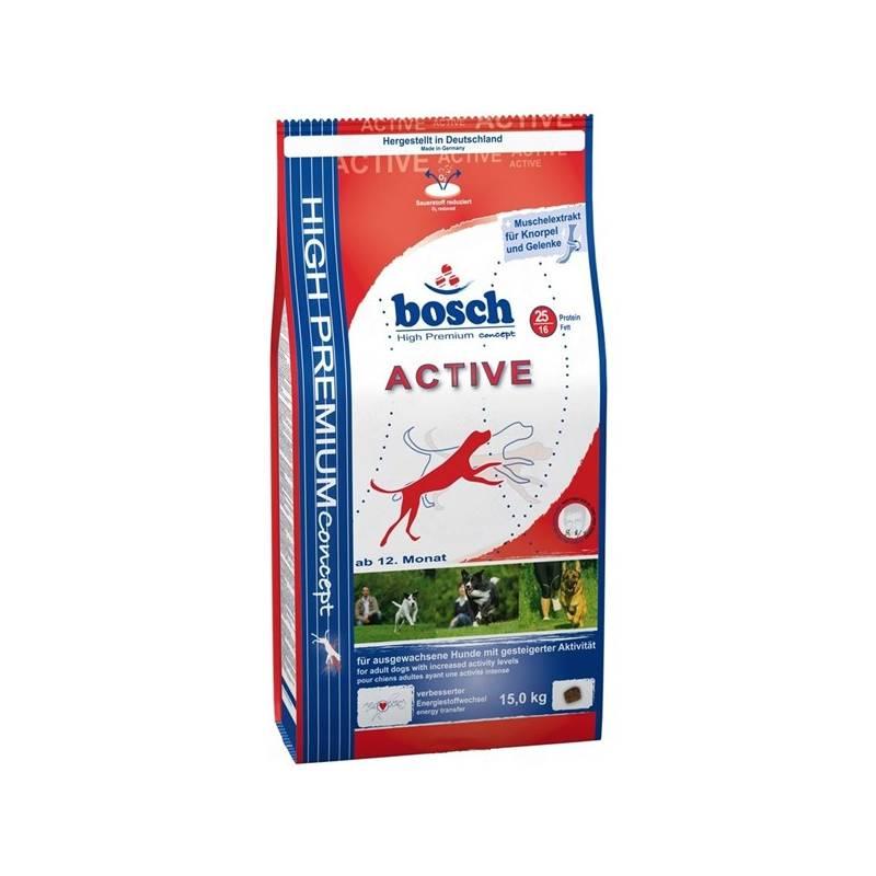 Granuly Bosch Activ 15 kg, aktívny, dospelý pes