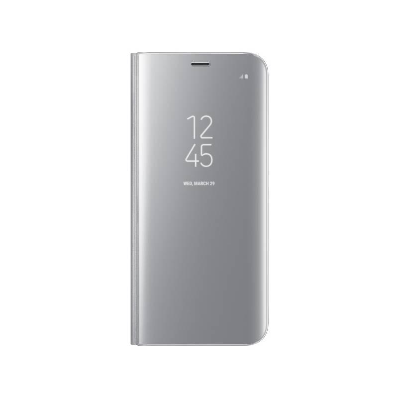 Púzdro na mobil flipové Samsung Clear View pro Galaxy S8+ (EF-ZG955CSEGWW) strieborné