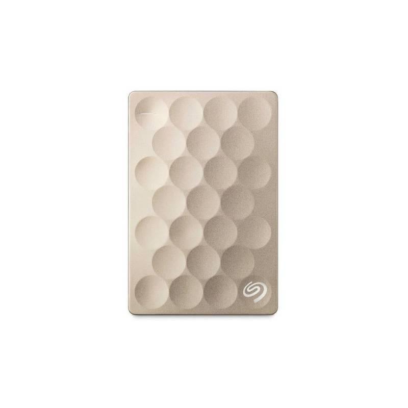 Externý pevný disk Seagate BackUp Plus Ultra Slim 2 TB/USB 3.0/ (STEH2000201) zlatý