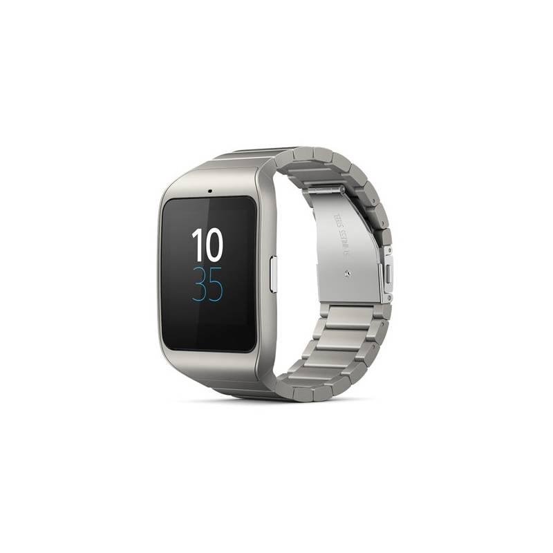 Chytré hodinky Sony SmartWatch 3 SWR50 - kovová (1287-4374)  74477ed27b9