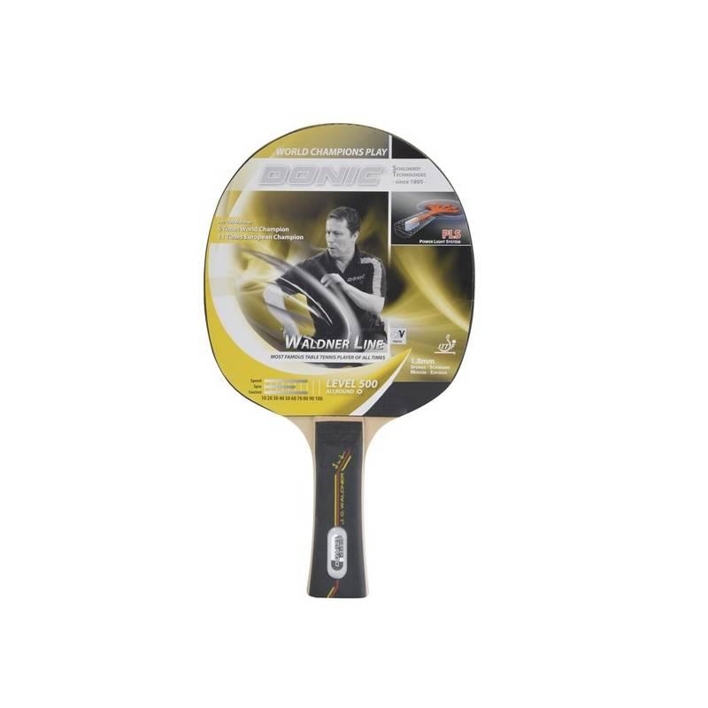 Raketa na stolný tenis Donic Waldner Line 500 čierna/modrá + Doprava zadarmo
