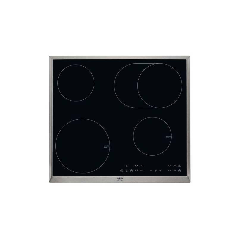 Kombinovaná varná doska AEG Mastery HK634150XB čierna/sklo + dodatočná zľava 10 % + Doprava zadarmo