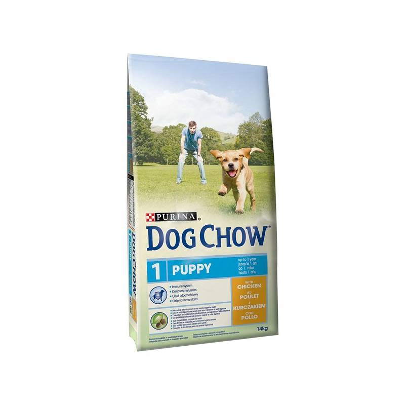 Granule Purina Dog Chow Puppy kuře 14 kg