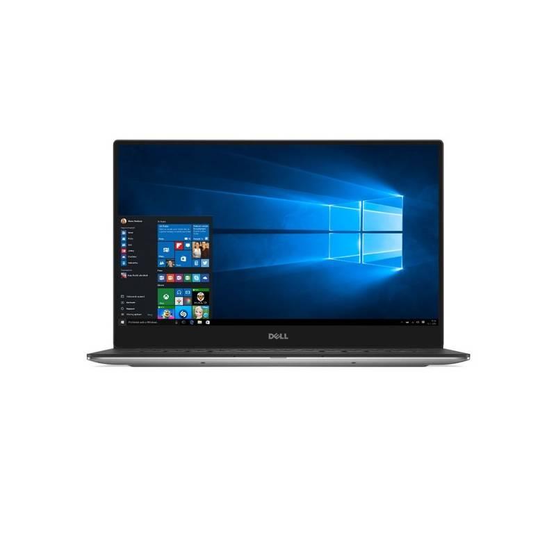 Notebook Dell XPS 13 (9360) +FPR (9360-64207) strieborný + Doprava zadarmo