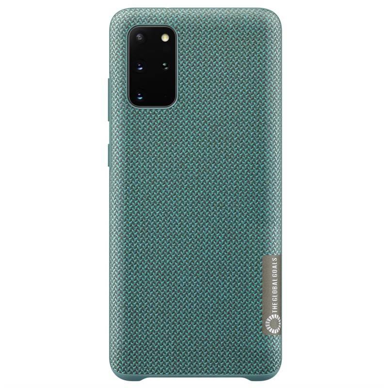 Kryt na mobil Samsung Kvadrat pro Galaxy S20+ (EF-XG985FGEGEU) zelený