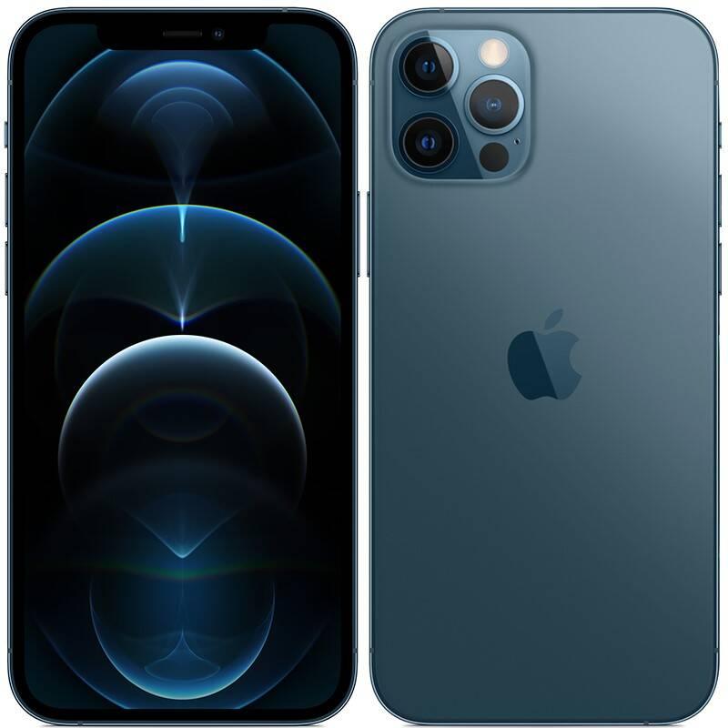 Mobilný telefón Apple iPhone 12 Pro 128 GB - Pacific Blue (MGMN3CN/A) + Doprava zadarmo