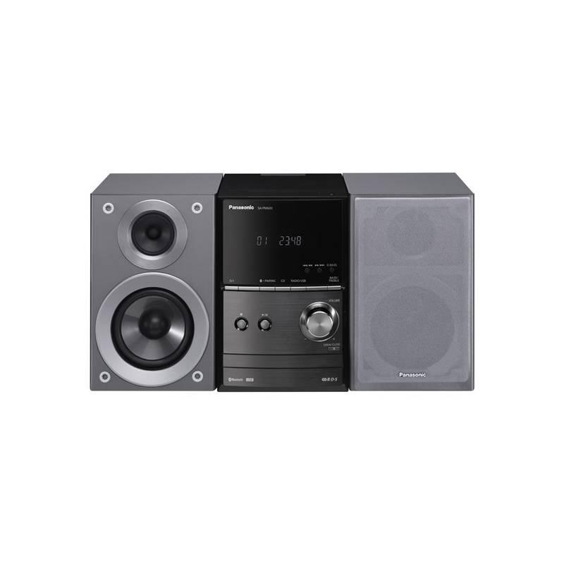 Obrázok Mikro HiFi systém Panasonic SC-PM600EG-S strieborná
