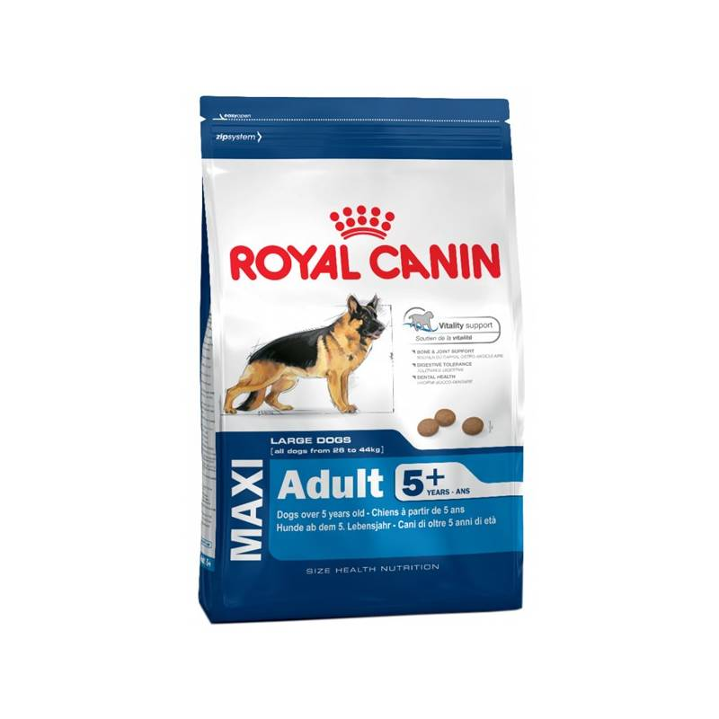 Granule Royal Canin Maxi Adult +5 15 kg
