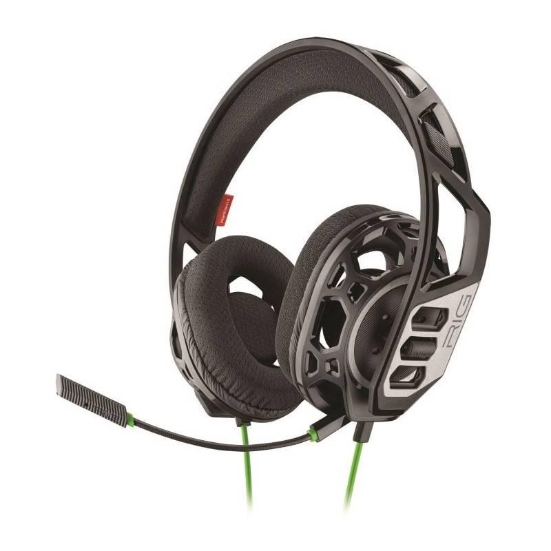 Headset Nacon RIG 300 HX pro Xbox One, Xbox Series X (RIG300HX) čierny