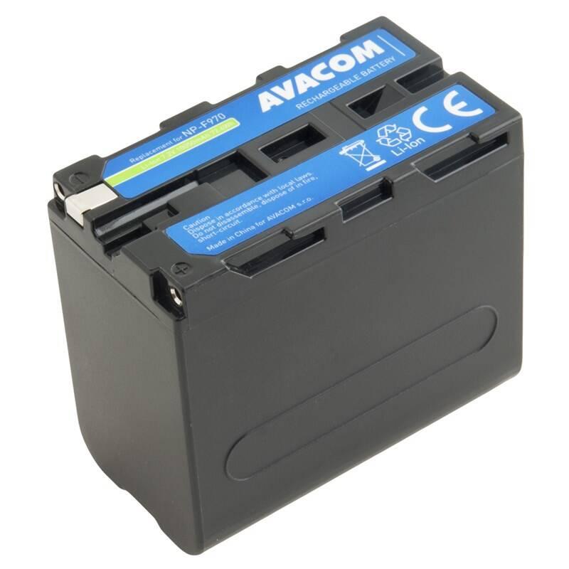 Batéria Avacom Sony NP-F970 Li-Ion 7.2V 10050mAh 72.4Wh LED indikace (VISO-970D-B10050) + Doprava zadarmo