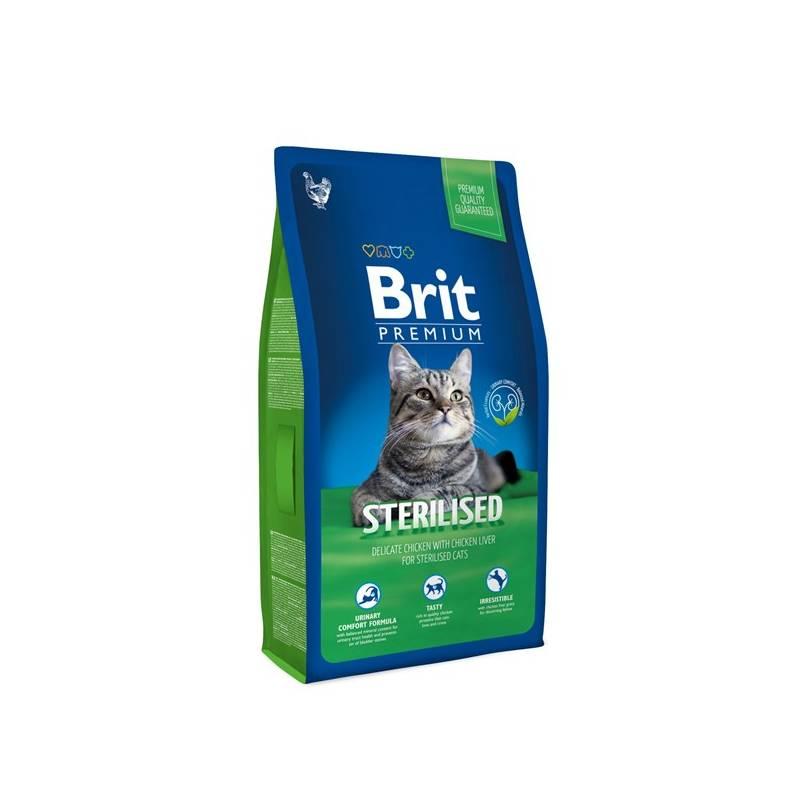 Granule Brit Premium Cat Sterilised 1,5kg