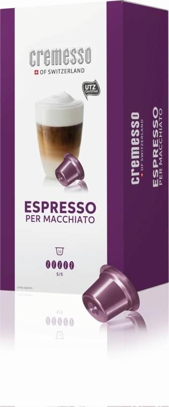 Kapsule pre espressa Cremesso Cafe Per Macchiato 16 ks (232844)