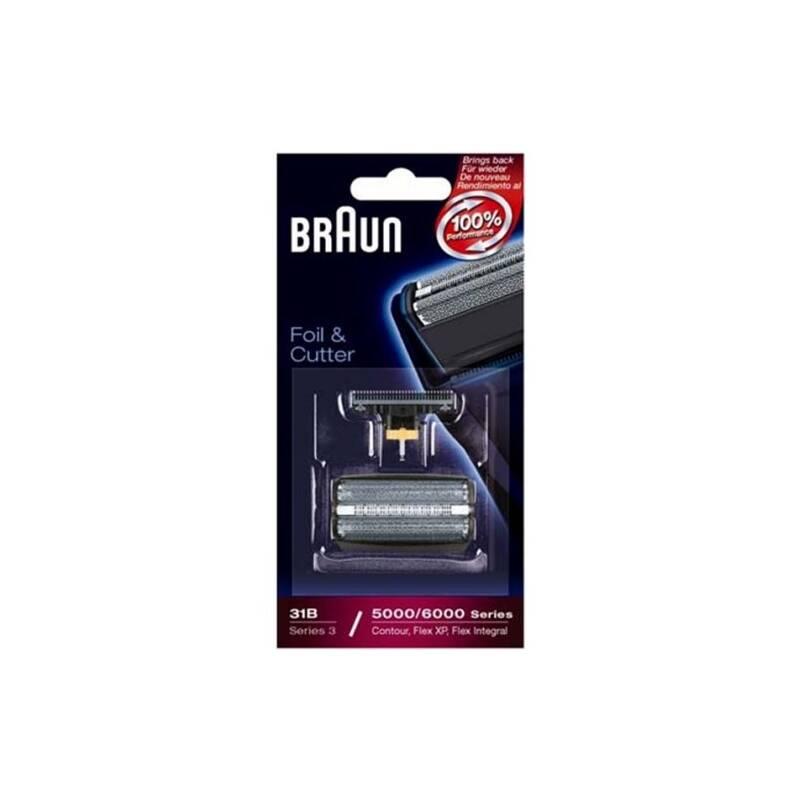 Príslušenstvo pre holiace strojčeky Braun CombiPack FlexIntegral - 31B čierne