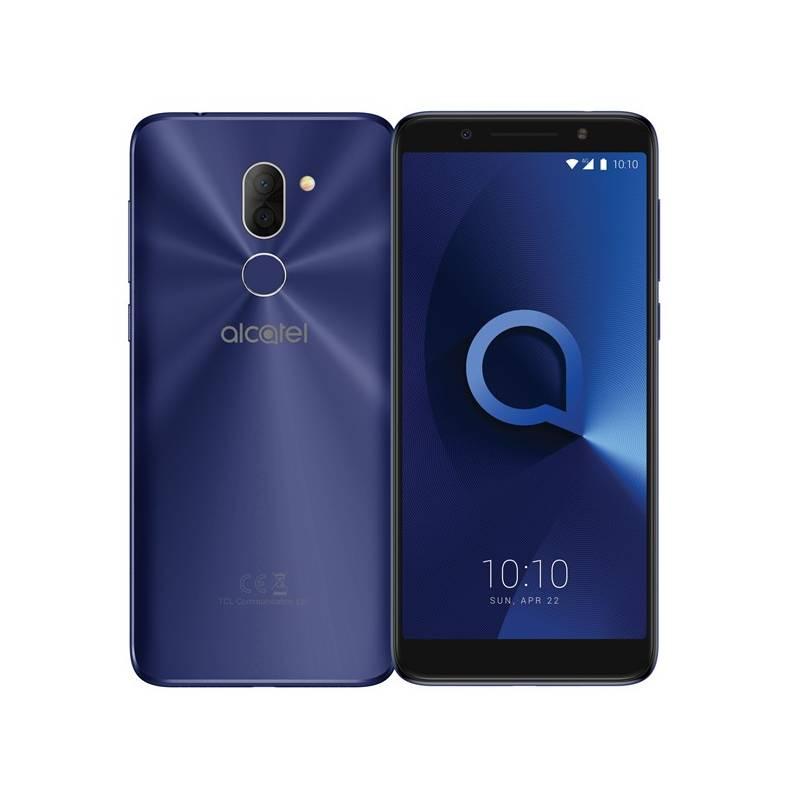 Mobilný telefón ALCATEL 3X 5058I Dual SIM (5058I-2BALE11) modrý Software F-Secure SAFE, 3 zařízení / 6 měsíců (zdarma) + Doprava zadarmo