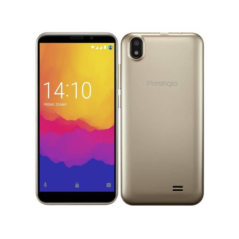 Mobilný telefón Prestigio Wize Q3 Dual SIM (PSP3471DUOGOLD) zlatý