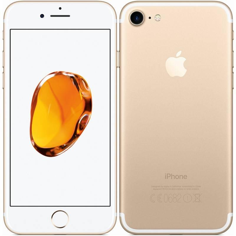 Mobilný telefón Apple iPhone 7 128 GB - Gold (MN942CN/A)