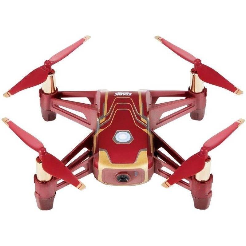 Dron Ryze Tech Tello - Iron Man Edition červený/zlatý + Doprava zadarmo