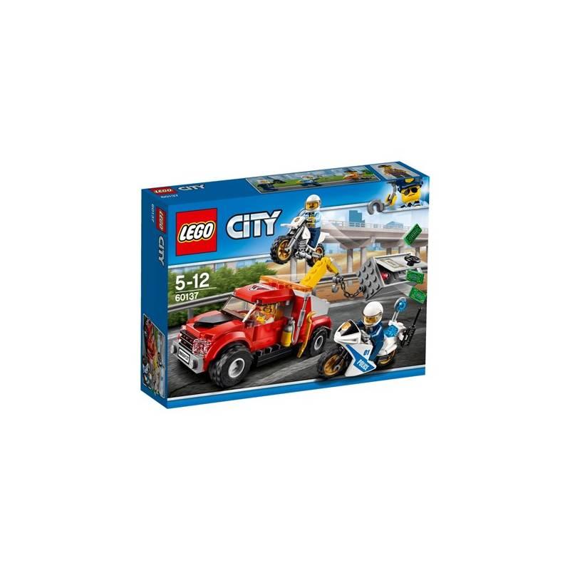 Stavebnica LEGO® CITY POLICE 60137 Trable odtahového vozu