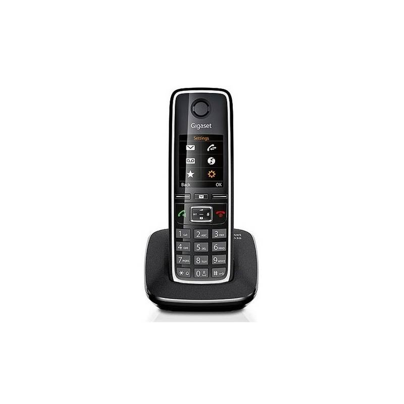 Domáci telefón Siemens Gigaset C530 (S30852-H2512-R601) čierny