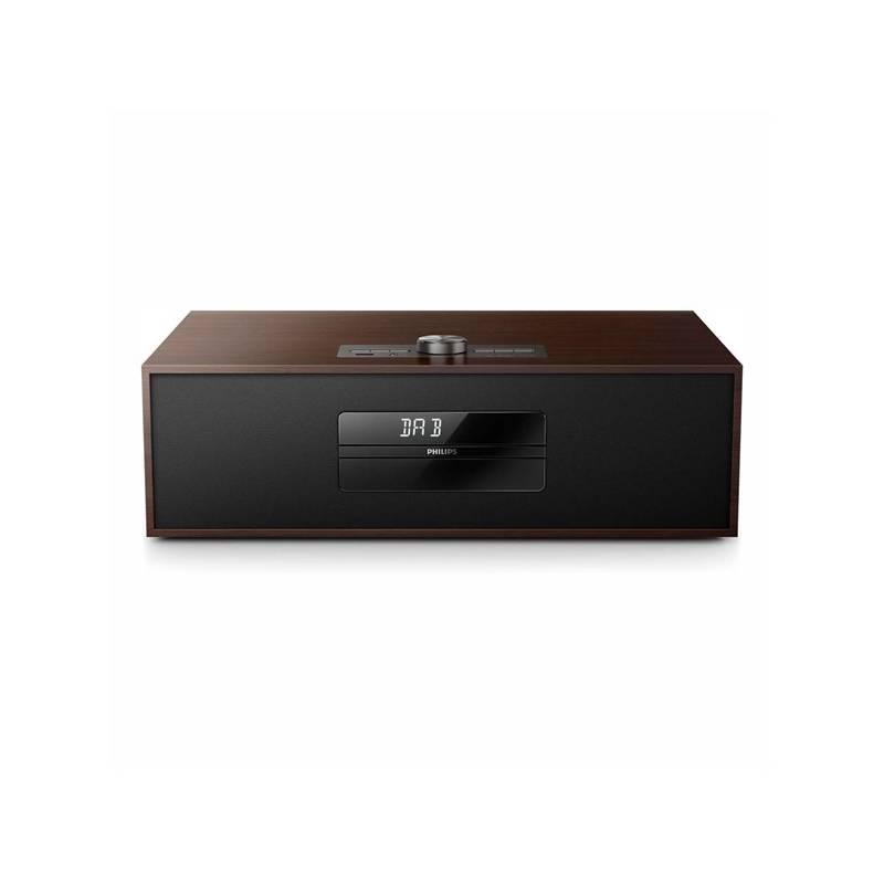 Mikro HiFi systém Philips BTB4800 hnedý + Doprava zadarmo