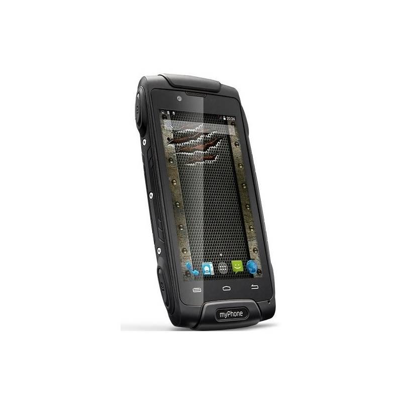 Mobilný telefón myPhone HAMMER AXE 3G Dual SIM (TELMYAHAXE3GBK) čierny