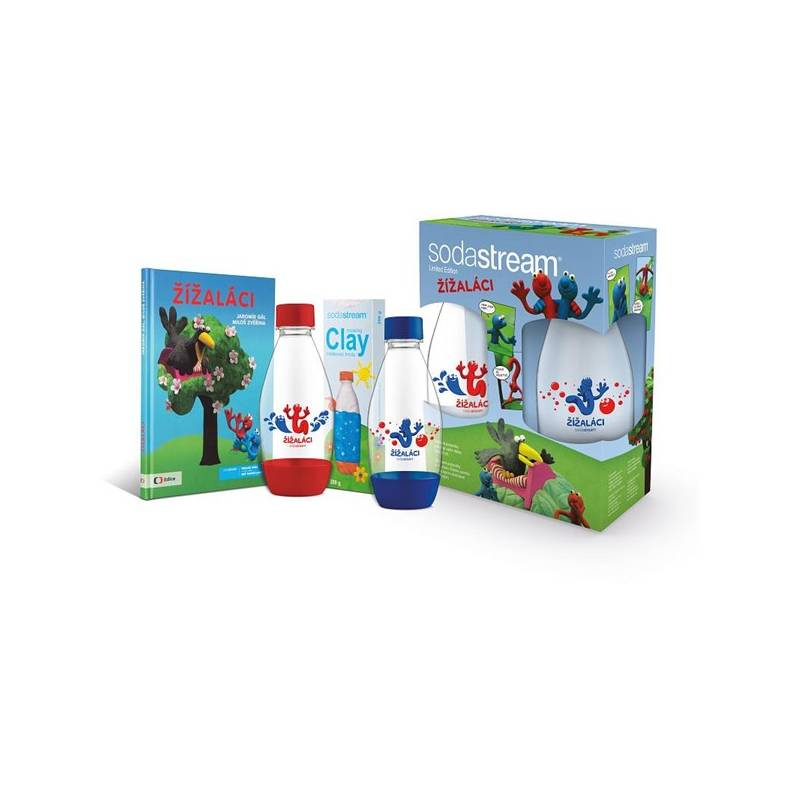 Príslušenstvo k výrobníkom sódy SodaStream dětský set Žížaláci