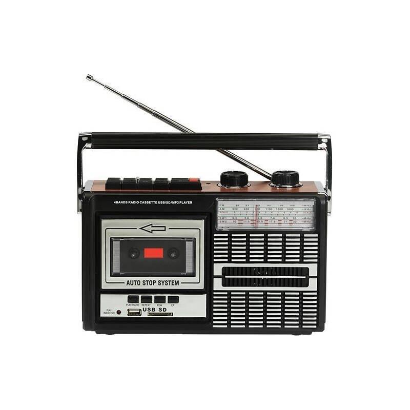 Radiomagnetofon Ricatech PR85 černý