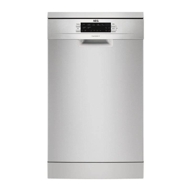 Umývačka riadu AEG Mastery FFB63400PM nerez + Doprava zadarmo