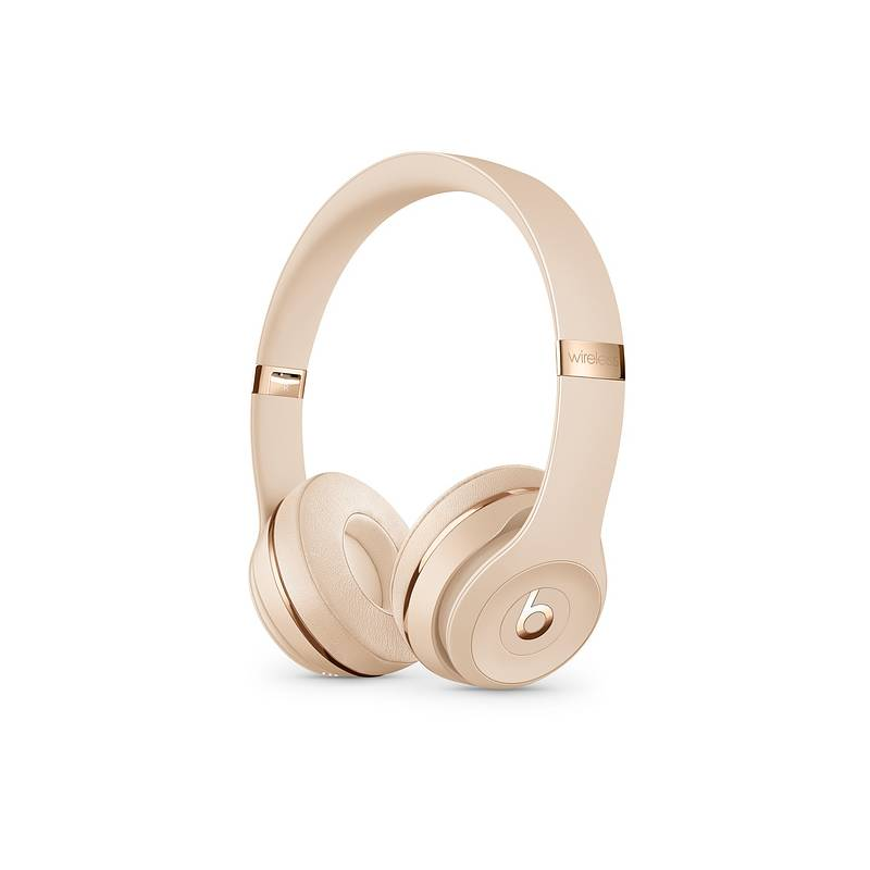 Slúchadlá Beats Beats Solo3 Wireless On-Ear - saténově zlatá (MUH42EE/A) + Doprava zadarmo
