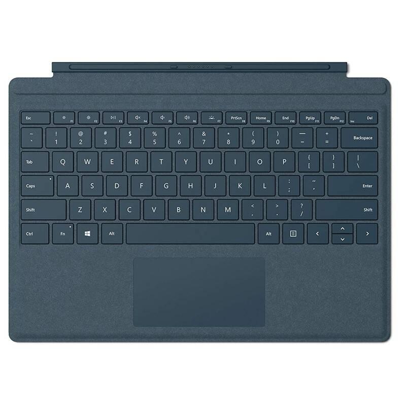 Pouzdro na tablet Microsoft Surface Go Type Cover, US layout (KCS-00033) modré